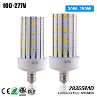 Free shipping E26 E39 100W LED Corn Bulb for Post Light Fixture with ETL Listed