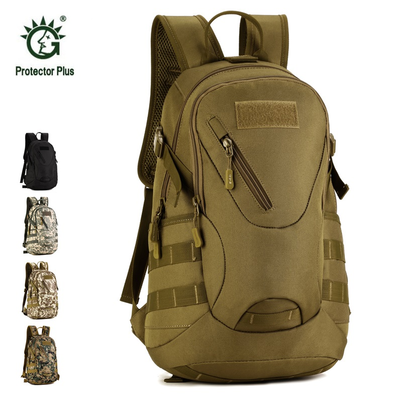 Tactical Bakpack 20L 14 Inch Laptop Molle Military Backpack Nylon Sports Bag Camping Hiking Waterproof Travel Tactical Backpack