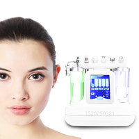 6 facial beauty machine beauty equipment skin cleansing equipment rejuvenation facial massage machine 110V 220V