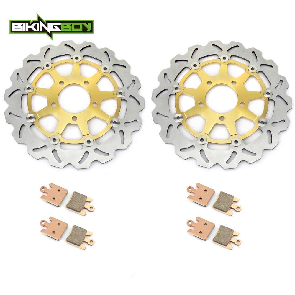 BIKINGBOY для SUZUKI GSXR gsx-r 1000 GSXR1000 2003 03 K3 волнистые/круглые передние тормозные диски роторы колодки