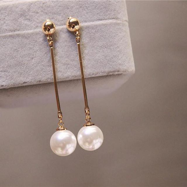 Women's Pearl Drop Earrings