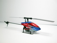 Free Shipping SKYARTEC WASP100 NANO CPX 3D DFC brushless 2.4GHz 6CH RC helicopter with  Transmitter and  Color Box