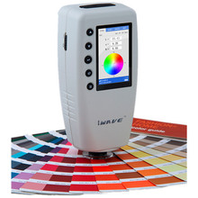 Быстрая и через DHL WR10 Высокоточный цифровой измеритель цветопередачи и разницы в цвете тестер WR-10(CIELAB, 8 мм, D65