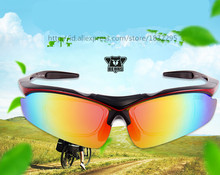 UV400 Outdoor Sports Men Women Bike Cycling Sun Glasses Shade Eyewear Goggle Sunglasses Bicycle Driver 5