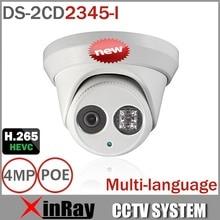 HIK POE IP Caméra DS-2CD2345-I Mise À Jour Version de DS-2CD2335-I Soutien H.265 ONVIF Infrarouge IP67 Étanche Caméra