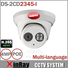 HIK POE IP Camera DS-2CD2345-I Update Version from DS-2CD2335-I Support H.265 ONVIF Infrared IP67 Waterproof Camera