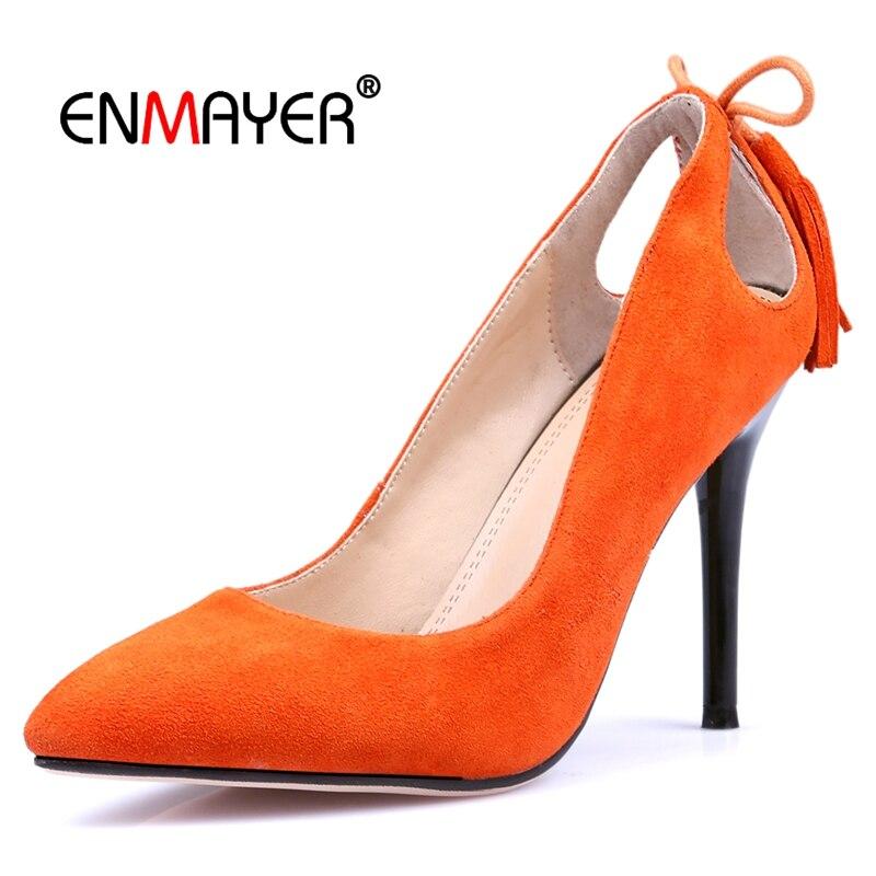 Pompe Capretto Base Black on Scamosciata Formato Slip orange Donna Scarpe 34 Alta Ly474 Da Eccellente 40 Donne Di Casual Delle pink Enmayer Moda 2018 Pelle dIwfBqd6T
