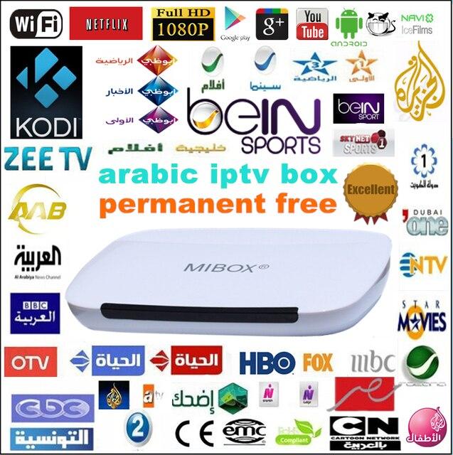 Forever free!arabic iptv box Android quad core sky/Bein Sports MBC,350+Arabic Channel, KODI, Wifi,HDMI, Mini PC smart TV BOX