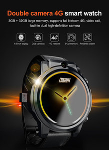 """Image 5 - Lokmat X360 Android 7.1 4G LTE 3GB32GB MT6739 Smartwatch Bluetooth GPS 1.6 """"Touch Screen 5.0MP Video Chiamata 620mAh Astuto Della Vigilanza Degli Uomini"""
