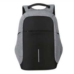 Female and men Backpack Anti theft Oxford Casual Laptop Backpack With USB Charge Waterproof Travel Bag Computer Bag Bagpack