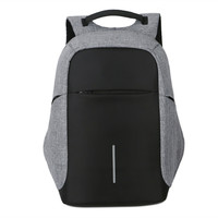 Female And Men Backpack Anti Theft Oxford Casual Laptop Backpack With USB Charge Waterproof Travel Bag