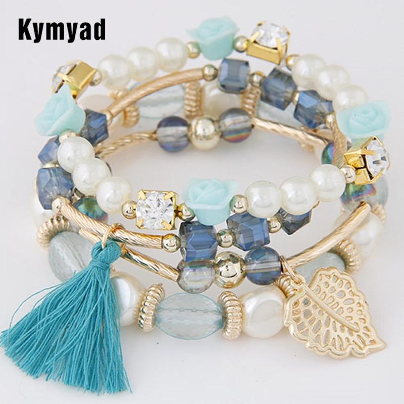 Kymyad Fashion Design Girl Jewelry Handmade Bracelets Sets ...