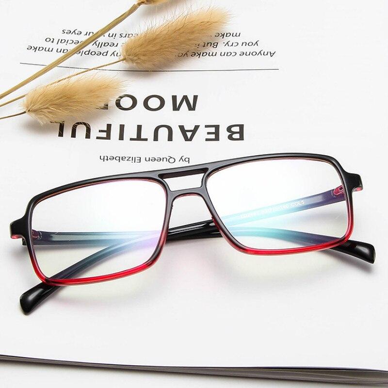 2019 NEW Unisex Blue Light Blocking Glasses Square Computer Eyeglasses Women's Eyeglass Frame Anti Blue Rays Eyewear