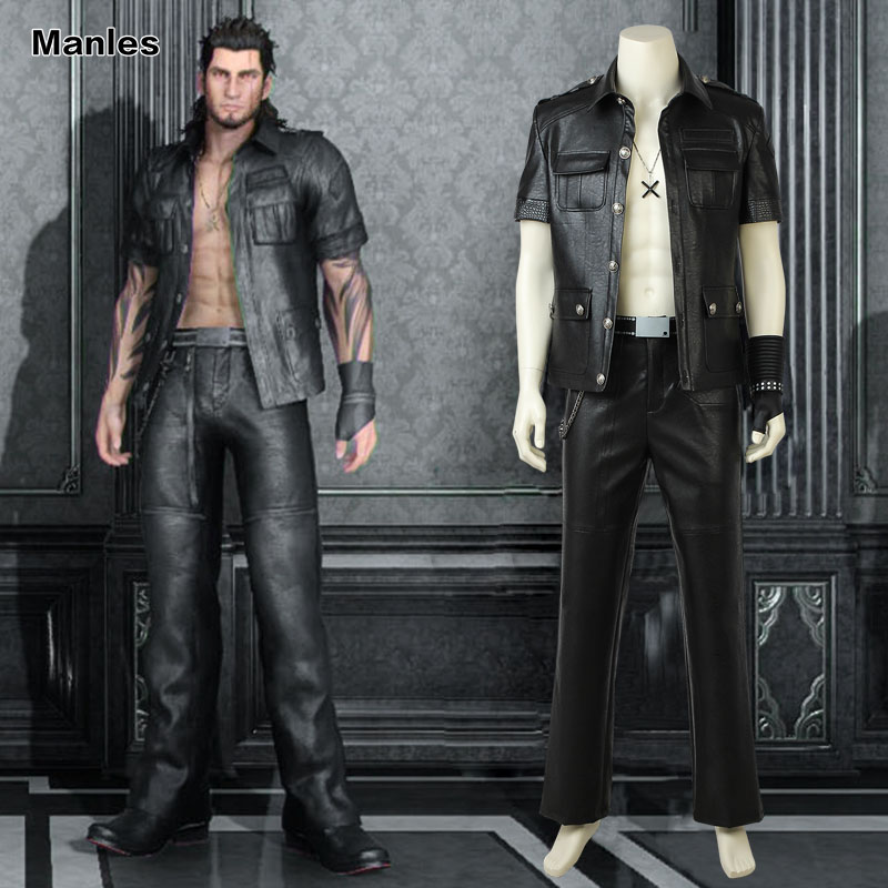 Games Costume Final Fantasy XV Gladiolus Amicitia Cosplay Costume Male Warrior Uniform Adult Men Role-Play Costume Custom Made
