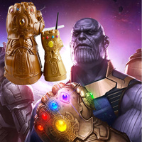 Популярные игрушки, Мстители, конечная игра, перчатка Таноса, чашка-непроливайка, бесконечная рукавица, косплей, латексная маска Таноса, мас...