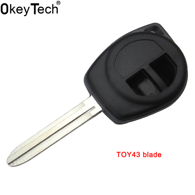 Okeytech Car Accessories High Quality 2 Buttons Remote Key Fob Shell