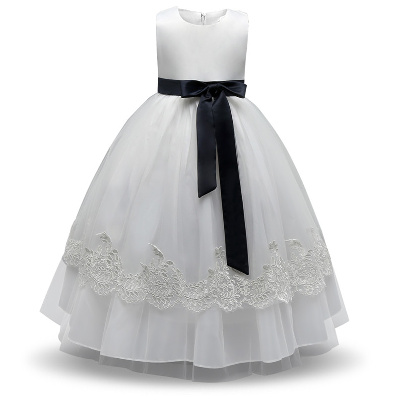 Summer Baby Dress For Girl Clothes Children Prom Gown Designs Kids Costume Lace Flower Wedding Birthday Dress Girl Party Frocks summer flower girl wedding dress toddler floral kids clothes lace birthday party graduation gown prom dresses girls baby costume