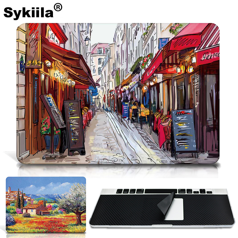 Կպչուն մաշկ Macbook Air- ի համար 13 11 Pro 13 15 12 Retina Skin Decal Laptop A1706 A1707 A1708 Wall Car Vinyl Logo Marble