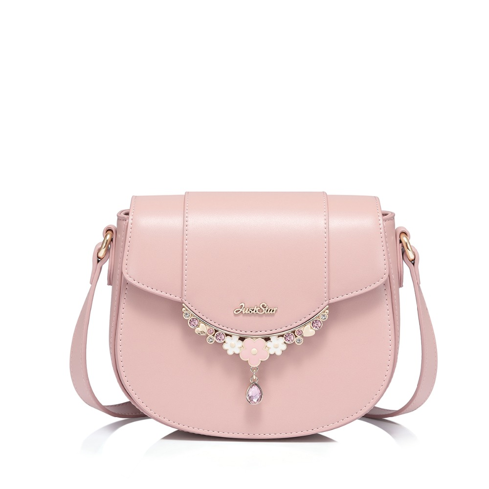 2019 NEW Brand Women s PU Leather Messenger Bags Ladies Fashion Leisure Shoulder Purse Female Pink