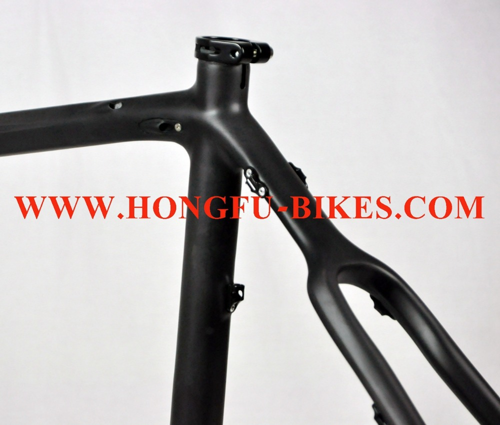FM089 Hongfu bike, cyclocross bike frameset / Disc cx bicycle frame ...