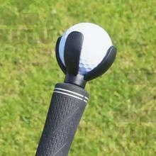 New 4 Prong Golf Ball Pick Up Tool Ball Pick Up Retriever Grabber Claw Sucker To
