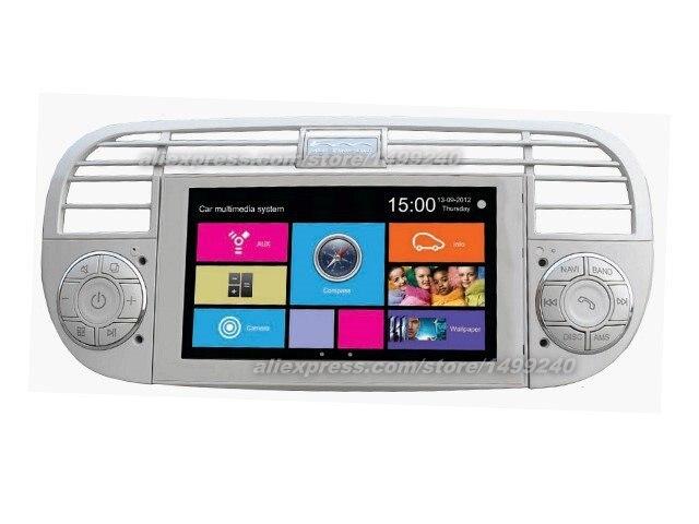 online buy wholesale fiat 500 gps navigation system from. Black Bedroom Furniture Sets. Home Design Ideas