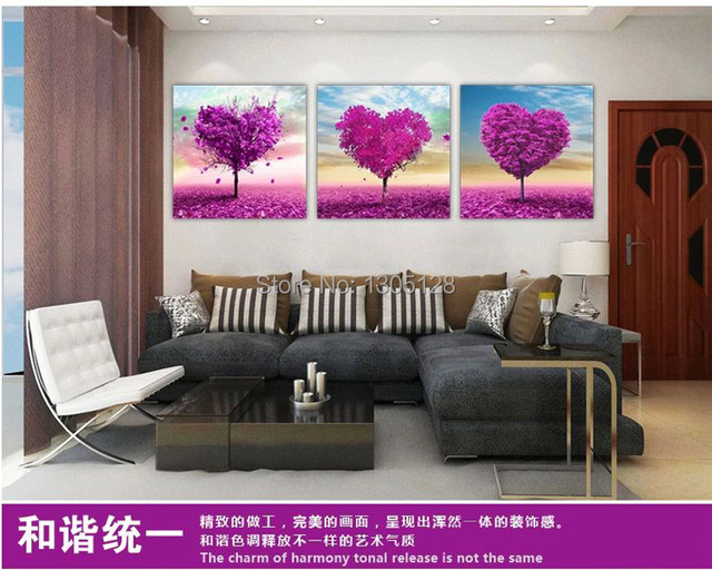 Hd Art Print On Canvas Painting Like Wall Decor No Frame Heart