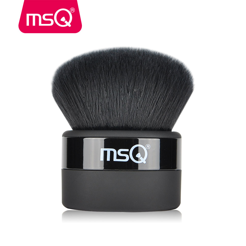 MSQ Professional Powder Makeup Brush 1Pcs Buffer Make Up Brush With Dense High Quality Synthetic Hair For Makeup Tools 1pcs pro quality good professional karma optical blurring with original package single big face powder make up brush