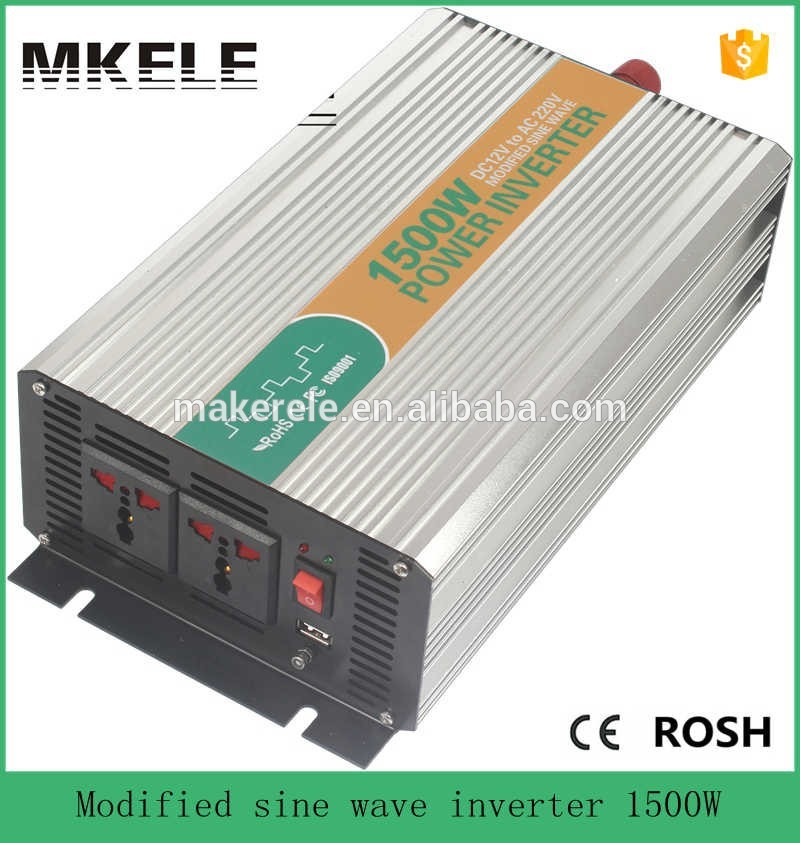 Подробнее о MKM1500-122G modified sine wave tronic power inverter 12v 220v 1500w inverter spare parts for home application made in china 1200w 12v to 110v power inverter safe power inverter for home made in china modified sine wave 12v to 110v inverter 1200w