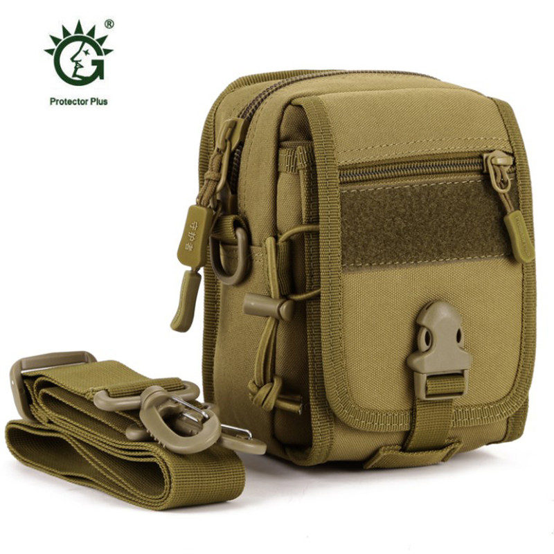 Hot !Tactical Waist Belt Pack Bag Wallet leisure Waterproof Nylon bag Pouch Small male best Pack free holograms