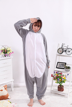 Koala Grey Onesies Unisex Sleepsuit Adult Pajamas Cosplay Costumes Animal Onesie Sleepwear Jumpsuit For Man Women