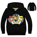 2017 Boys t shirt t-shirts kids baby Paw Patro dog Hoodies children clothing hooded clothes infantis menino for 2 4 6 8 10 Years