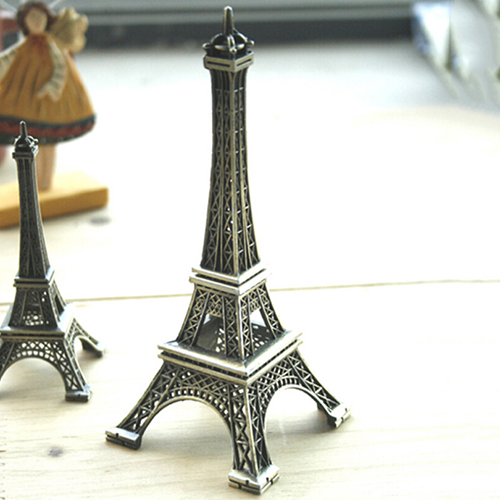 Popular New 15cm Home Decoration Eiffel Tower Metallic Model Bronze Color Iron Romantic Ayj6 China