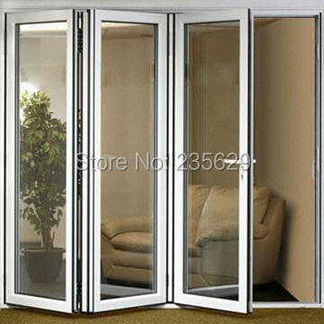 Aluminium Bi Folding Exterior Doors, Aluminum Folding Door Systems,  Exterior Aluminium Folding Doors
