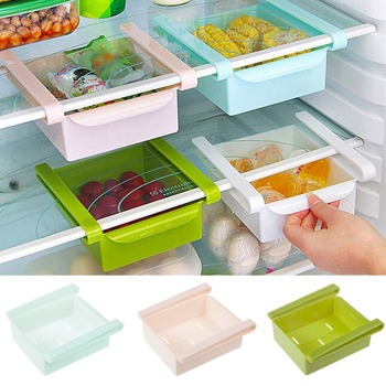 Mini ABS Slide Fridge Freezer Space Saver Storage Rack 1