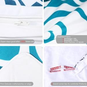 Image 4 - BeddingOutlet Turtles Bedding Set Tortoise Duvet Cover Marine Animal Home Textiles 3pcs Cartoon Blue White Bedclothes Drop Ship