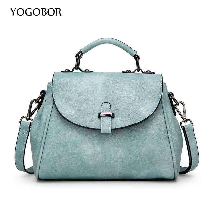 ФОТО New Arrival Vintage Trapeze Tote Women Leather Handbags Ladies Party Shoulder Bags Black/Blue/Pink/Grey Fashion Top-Handle Bags