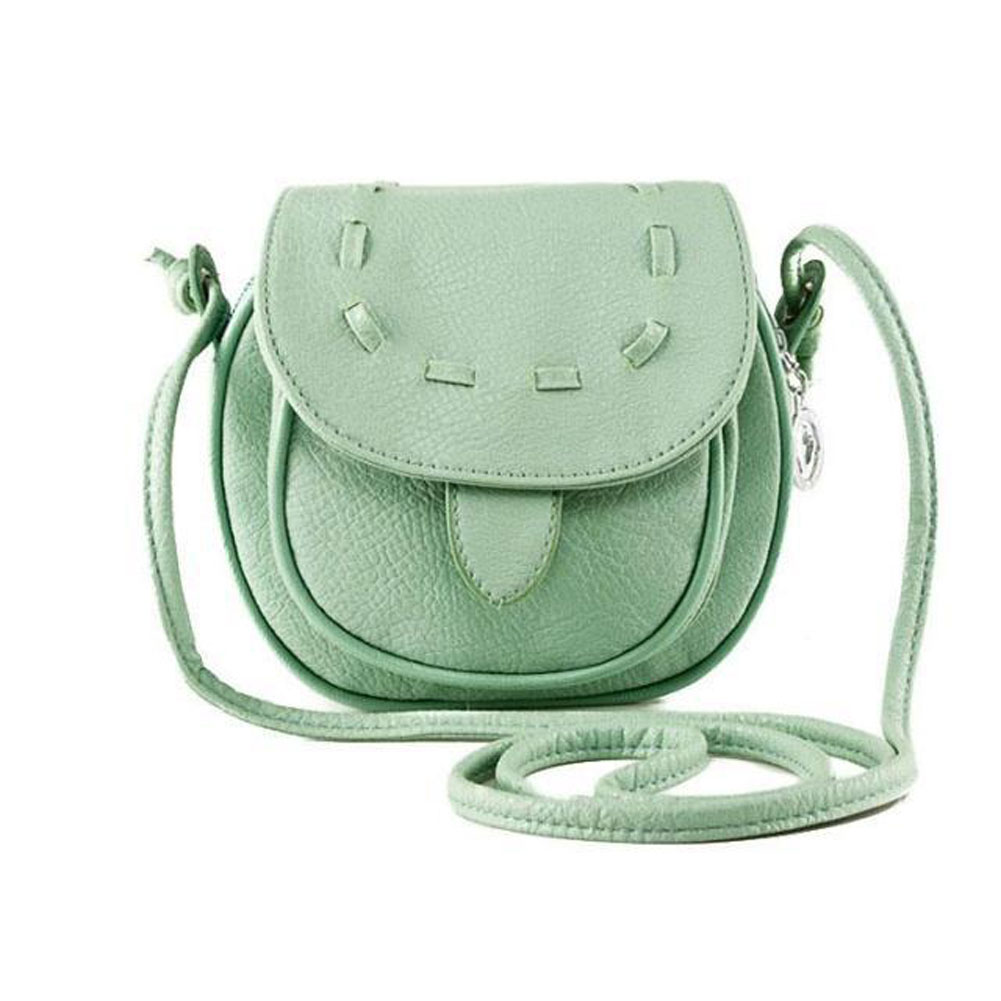 Fashion Mini Small Women's Messenger Bag Leather Handbags Shoulder Bags Cross body Crossbody Bag Purses Cover Zipper PU fashion handbags pu leather women shoulder bag mickey big ears shell sweet bow chains crossbody female mini small messenger bag