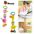 Sozzy Stuffed Animal Plush Toys Baby Infant Teether Rattles Toys Cartoon Early Educational Baby Car Hanging Strollers Toys