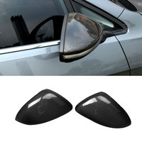 Replacement Style for Volkswagen VW Golf 7 MK7 GTI R 2014 2018 Carbon Fiber Rear View Mirror Cover Add On Style