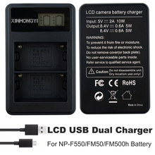 NP-FM500h Battery NP-FM50 Bateria LCD Dual USB Charger For Sony A57 A58 A65 A77 A99 A550 A560 A580 Video Camera Battery Charger 2pc np fm500h np fm500h npfm500h battery lcd ultra fast dual charger for sony a57 a65 a77 a99 a350 a550 a580 a900 digital camera