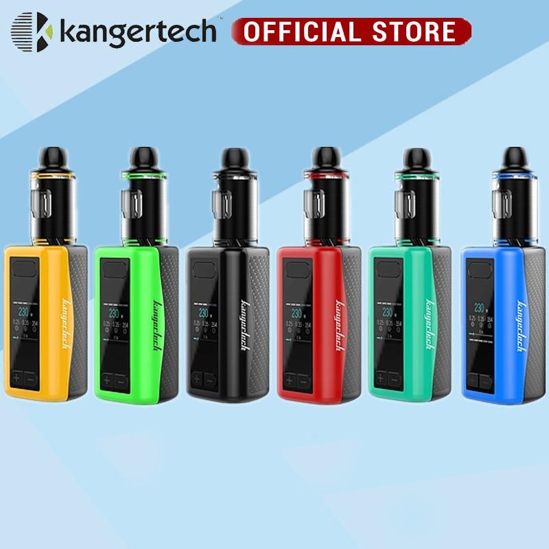 Electronic Cigarette Original Kanger iKen Kit Built-in 5100mAh Battery 230W Mod 4ml Tank 230W Kangertech iKen Kits Vaping Kit