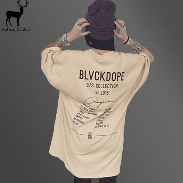 Eden Aelfric Kanye West Camisa Ocasional T Homens Cáqui Letra Impressa Top Tshirts Dos Homens Hip Hop Streetwear Tees Tshirt Homme