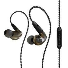 MEE audio P1 Headphones HIFI Metal Headphone Original 100% New Arrival 3.5mm Headset Stereo Earphones Super Bass noise isolating