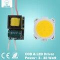 3 Вт 5 Вт 7 Вт 10 Вт 12 Вт 15 Вт 20 Вт 25 Вт 30 Вт COB светодиодный чип панель управления для светодиодный прожектор лампы светодиодные лампы 110-240 В вход LED блок питания водитель