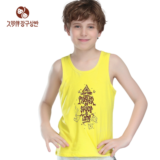 96b47cdeab Retail and wholesale boy s summer vest kids  sleeveless vest children soft  and fresh tank top a piece 7501