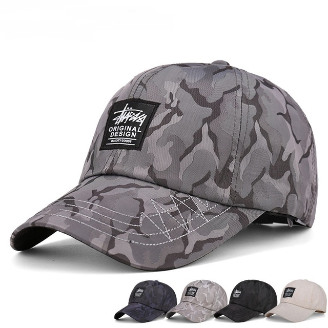 a6b905851c171 2017 New Camouflage Printing Baseball Cap Curved Brim Dad Caps Fashion  Gorras Snapback Hats Summer Trucker Hat For Men