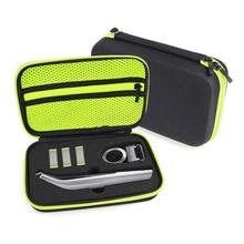 הכי חדש Haed נייד מקרה עבור Philips All in oneblade פרו גוזם מכונת גילוח אביזרי EVA נסיעות שקית אחסון חבילת תיבת כיסוי רוכסן פאוץ