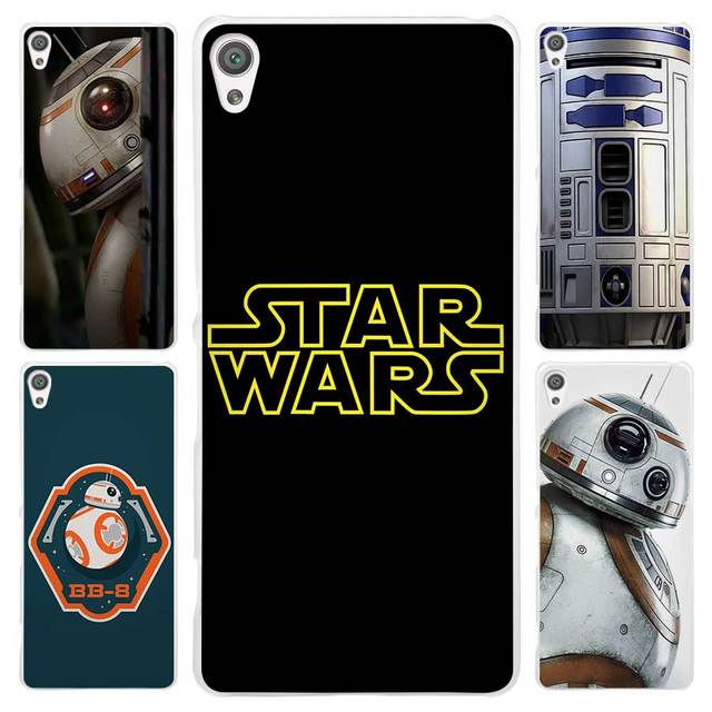 huge discount 0273c a4635 US $1.84 44% OFF|Hot Sale Star wars R2D2 Clear Cover Case for Sony Xperia  Z1 Z2 Z3 Z4 Z5 M4 Aqua M5 XA XZ C4 E5 l36h-in Half-wrapped Case from ...