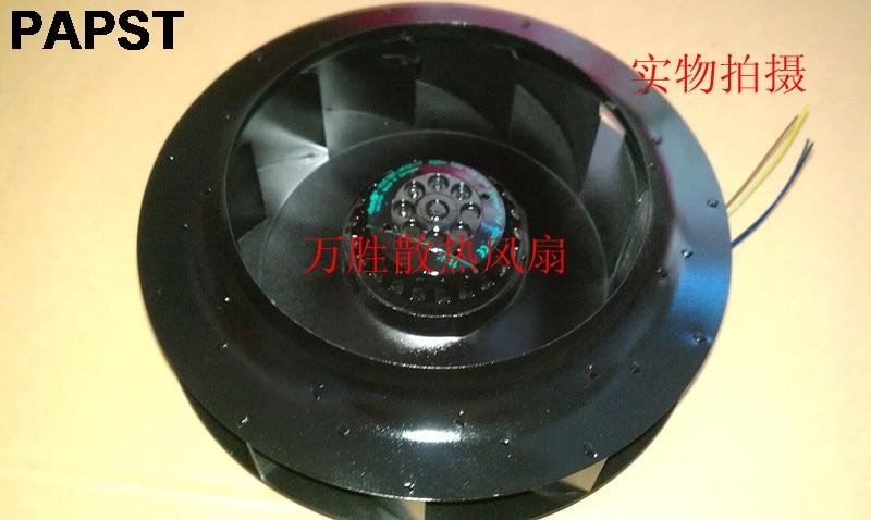 Original pour PAPST R2E280-AE52-17 230 V 50 HZ 1.0A 225 W turbo ventilateur de refroidissement centrifuge